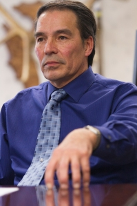 Tribal Council Chairman Floyd Azure likens oil exploration to gambling, and the tribes are all in.